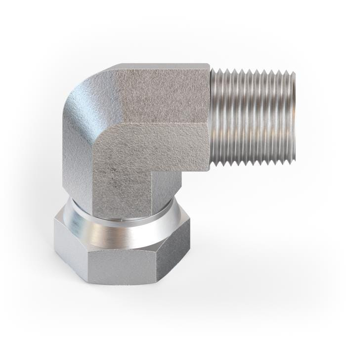 NPT Male To Female Swivel Elbow product image