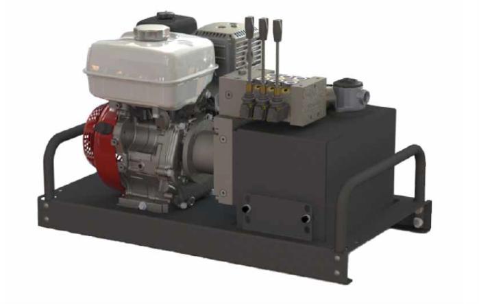 10 Gallon Reservoir With Honda GX240 Engine product image