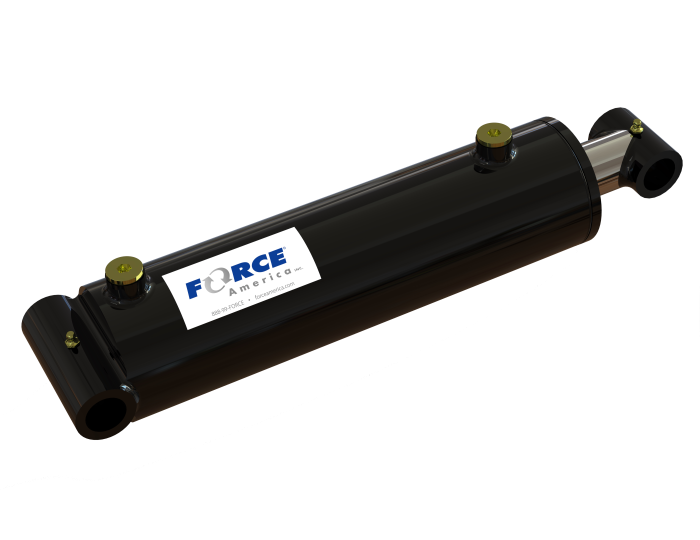 Welded Cross Tube Cylinder, 3 Bore product image