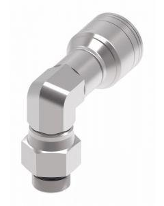 Male O-ring Swivel 90 Elbow