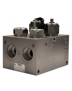 Dual Selector - Heavy Duty Electric 6 Port Valve