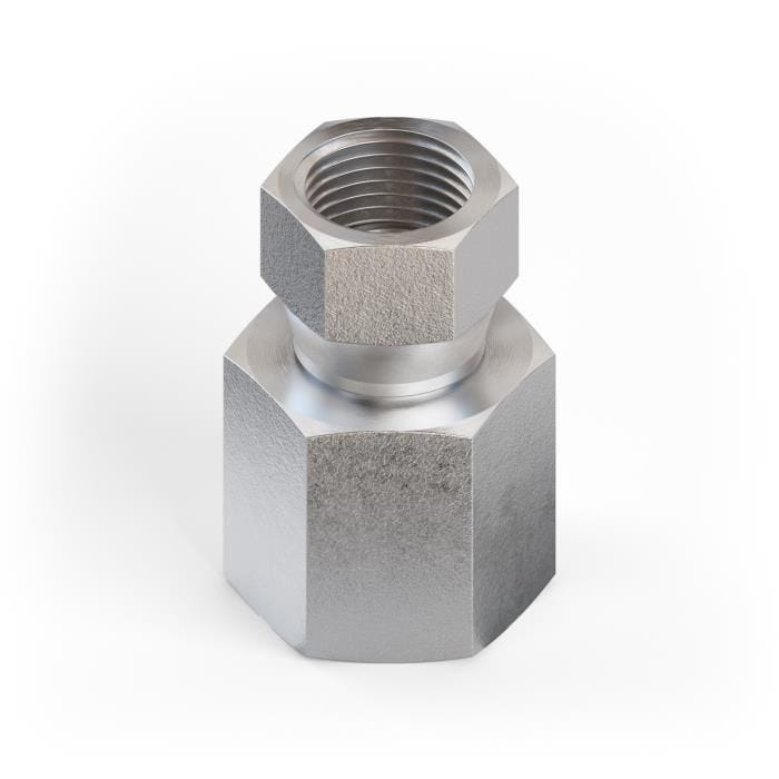 "Details about  /6506-06-04 Hydraulic Fitting 3//8/"" Female JIC Swivel X 1//4/"" Female NPT Pipe"